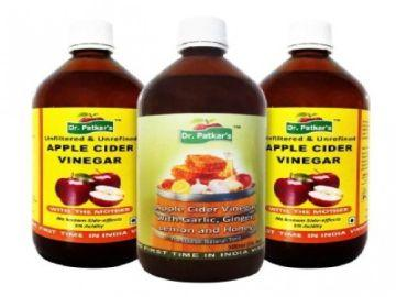 Dr. Patkar Apple Cider Vinegar 500 ML (Pack of 2)