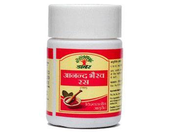 Dabur Anand Bhairava Ras Jar 120tablets