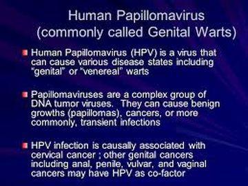 HPV Also called: Human papillomavirus